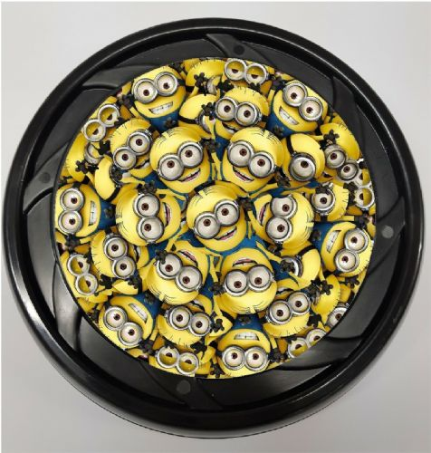 WHEELCHAIR & POWERCHAIR Personalised Spoke Guards MINIONS Design